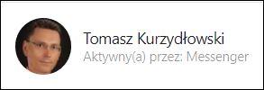 Tomasz Kurzydłowski psycholog messenger